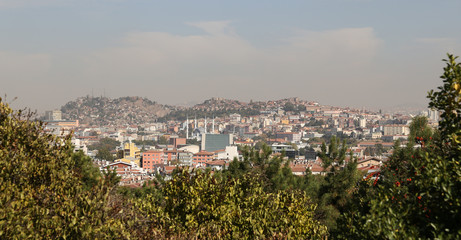 Ankara City in Turkey