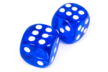 Two Blue Dice