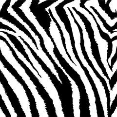 Zebra Seamless Tiling Pattern