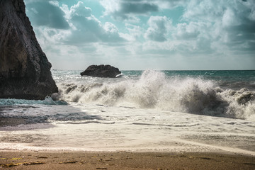 Place of birth of Aphrodite from the foam that has formed off the coast of the island of Cyprus, is a place of pilgrimage for all lovers or seeking love from all over the world