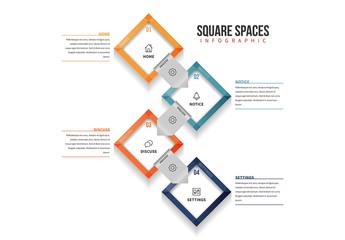 Square Spaces Infographic