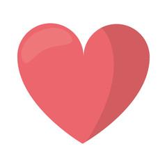 love heart romantic symbol vector illustration eps 10