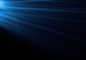 blue light streak background