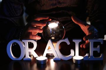 crystal ball Fortune Teller