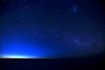 Milkyway between night and morning at Terrigal Australia