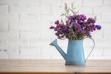 Violet dried flowers i