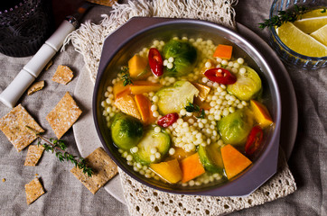 Soup with vegetables