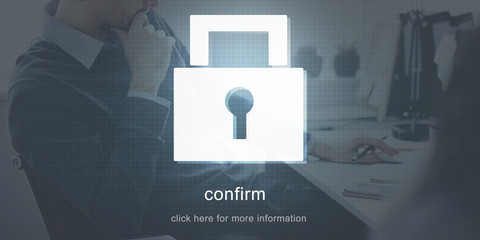 Protection Password Security Safety Concept