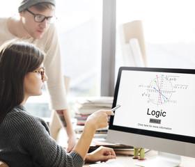 Logic Intelligence Rational Reason Solution Ideas Concept