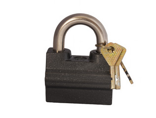 The lock with three keys