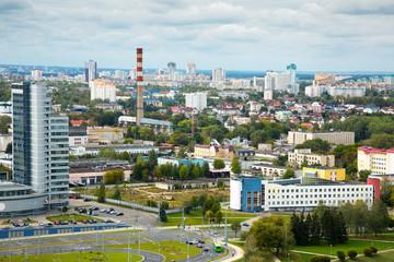 Buildind Mayak Minska and Niezaleznasci praspiekt