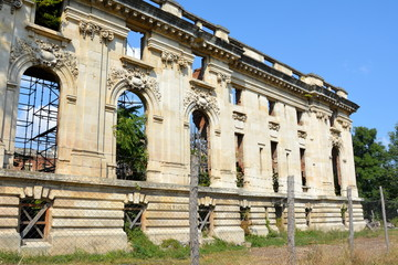 Little Trianon - ruins of the Gheorghe Grigore Cantacuzino s palace.