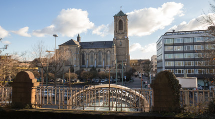 neuss city view germany