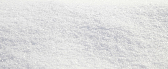 Smooth icy snow texture