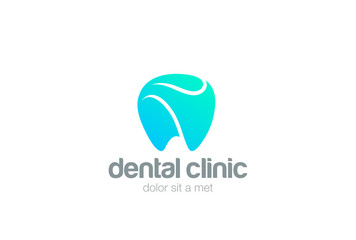 Dental Clinic Logo Tooth design vector Dentist stomatology