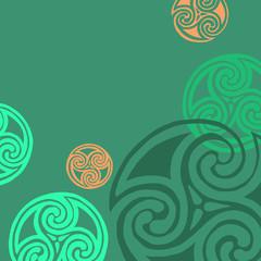 vector celtic sign design symbol element abstract