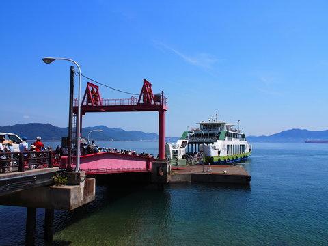 大久野島 桟橋