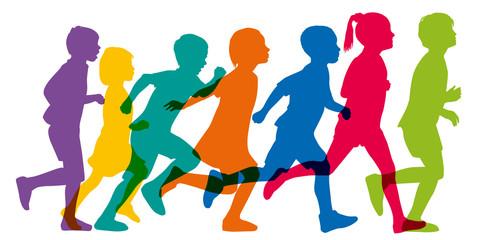 Enfant - courir - jouer - loisir -