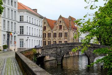 Augustijnenrei. Bruges, Belgium