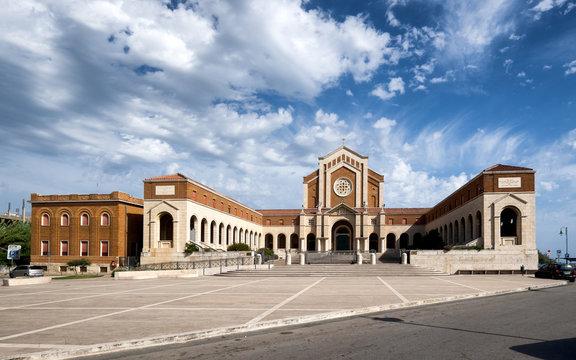 Church of Santa Maria Goretti in Nettuno. Province Roma, Italy