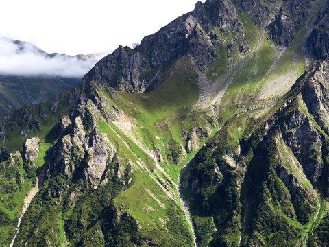 Berge im Montafon