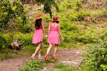 Paseo en primavera por el monte