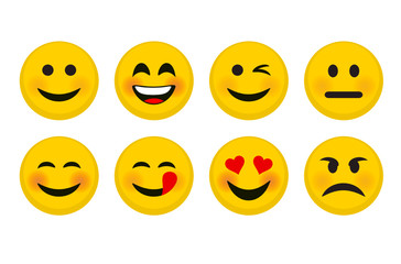 Smiley Icons Set