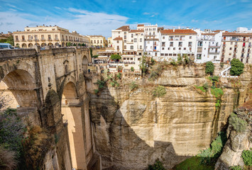Tajo Gorge. Ronda, Andalusia, Spain