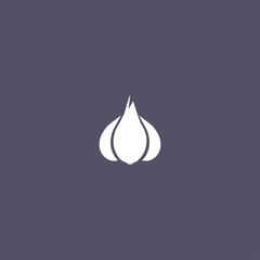 garlic icon design
