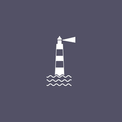simple Lighthouse icon
