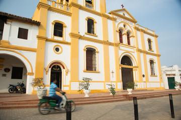Colonial Building, Cartagena, Colombia