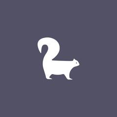 simple squirrel icon