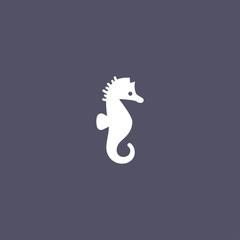 ocean seahorse icon