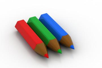 Crayon color pencil