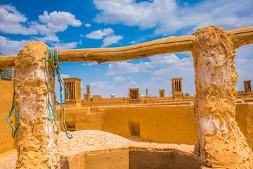 Tours du vent à Yazd, Iran