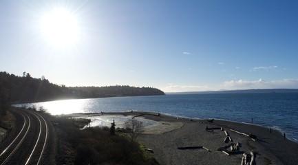 Carkeek Park Beach