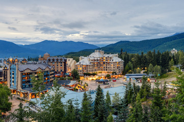Whistler Village, British Columbia, Canada.