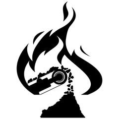 Icon coal industry