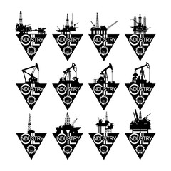 Icons oil industry-2