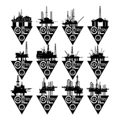 Icons oil industry