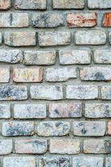 old red brick facade