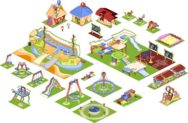 Playground isometric