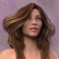 3D Woman Portrait