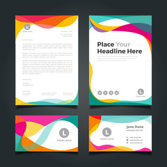 Business card and Corporate Identity Template.