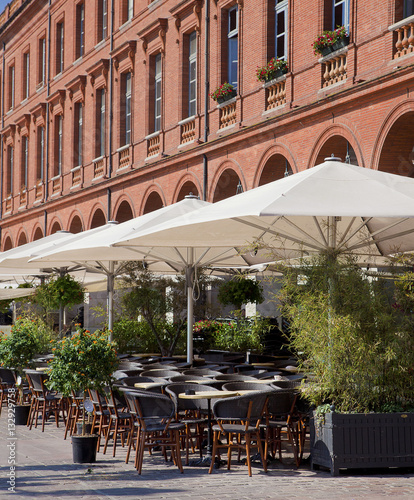 Terrasse Restaurant Toulouse :  u0026quot;Restaurant terrace in the south of France (Toulouse