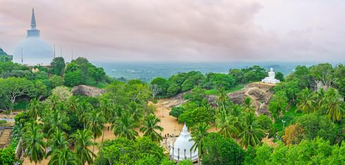 Panorama from Aradhana Gala Rock