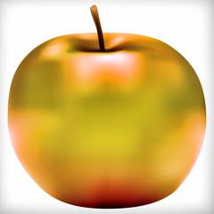 Dessin d'une pomme