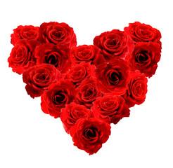 Heart of Roses flowers