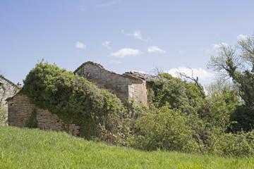 Hausruinen in Istrien