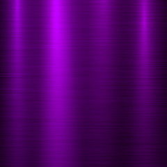 Fototapete - Violet metal abstract technology background with polished, brushed texture, chrome, silver, steel, aluminum for design concepts, wallpapers, web, prints, posters, interfaces. Vector illustration.